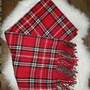 COPY - Ralph Lauren oversized plaid blanket scarf
